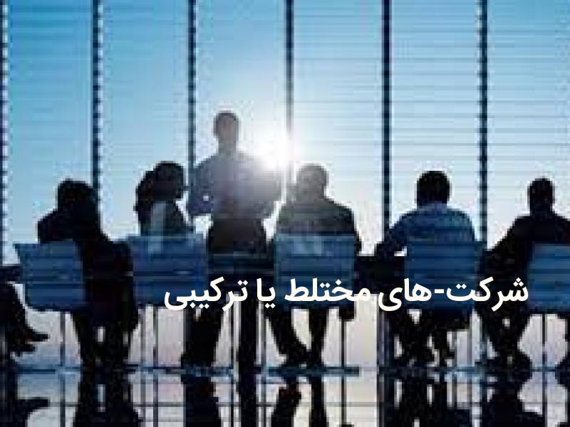 معرفی و ثبت شرکتهای مختلط یا ترکیبی (اعم از سهامی و غیرسهامی)