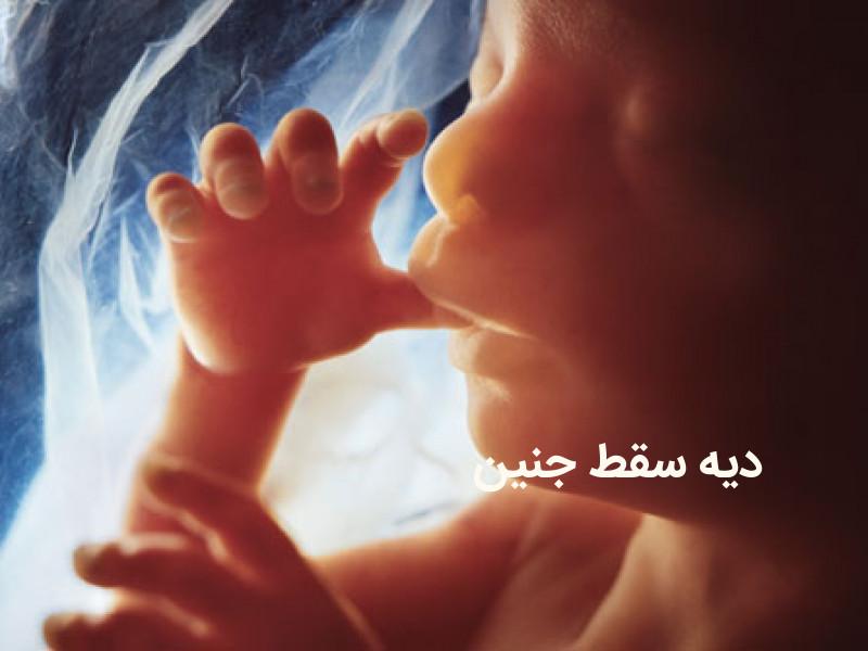 دیه سقط جنین